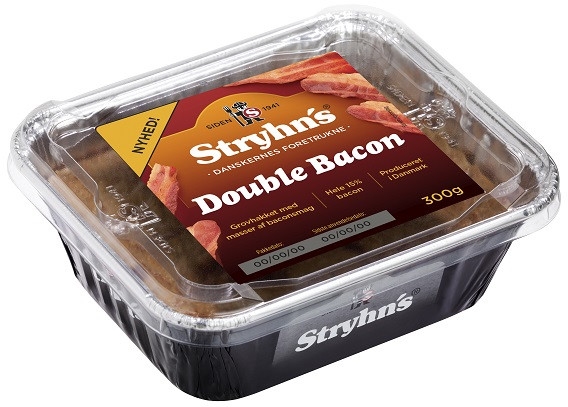 Stryhns Double Bacon Leberpastete 300g