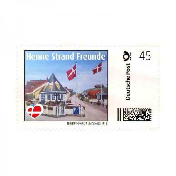 Briefmarke Henne Strand Freunde