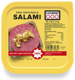 3-Stjernet Den Originale Salami groß