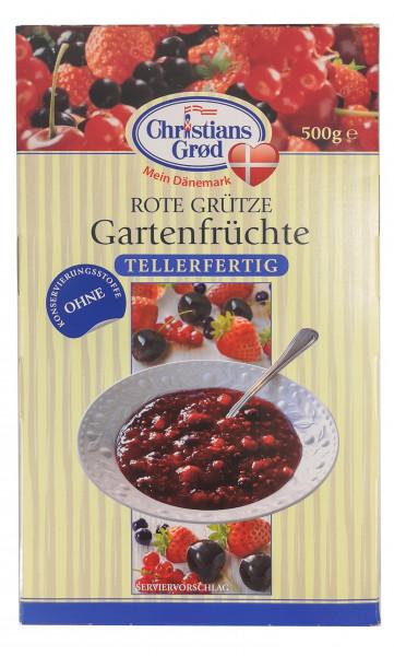 """Christians Grød Rote Grütze """"Gartenfrüchte"""""""