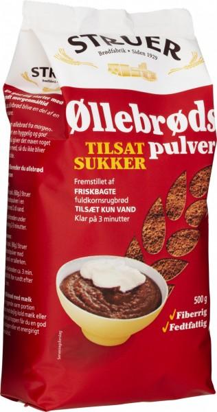 Struer Øllebrøds Pulver med Sukker