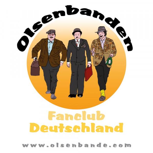Aufkleber Olsen Bande