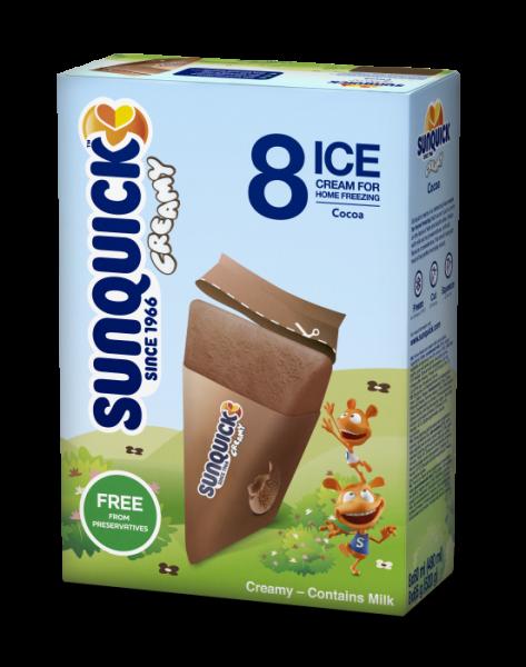 Sun Lolly - Sunquick Creamy Kakao