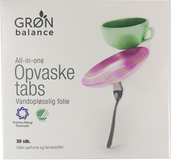 Grøn Balance Spülmaschinentabs