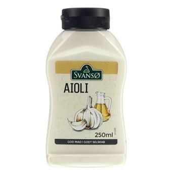 Svansø Aioli in der Flasche
