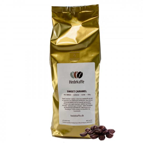 Hedekaffe Sweet Caramel Espresso Bohnen