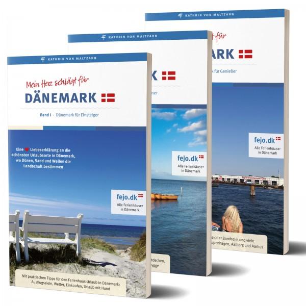 Reiseführer Trilogie Mein Herz schlägt für Dänemark I-III