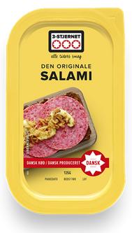 3-Stjernet Den Originale Salami kleine Scheiben