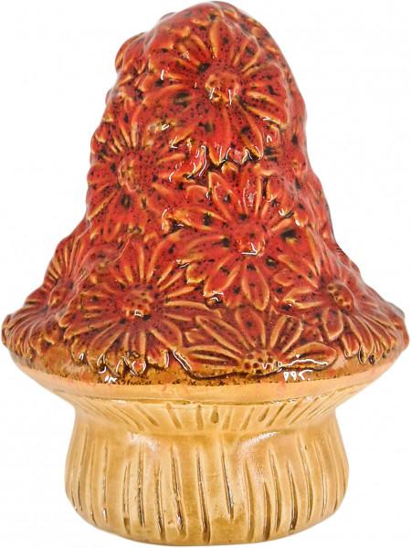 Maj Isenkram Großer Pilz Gänseblümchen Rot