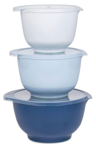 Rosti Margrethe Rührschüssel-Set weiß-blau