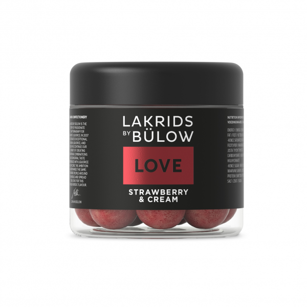 Lakrids by Bülow Love Edition Strawberry & Cream Small