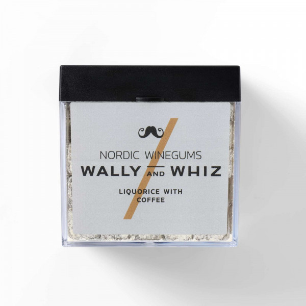 Wally and Whiz Liquorice with Coffee