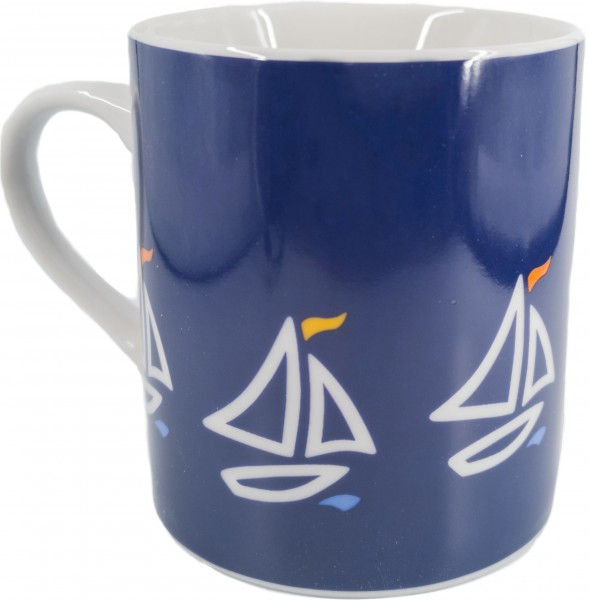 """Bo Bendixen Tasse """"Segelboot"""""""