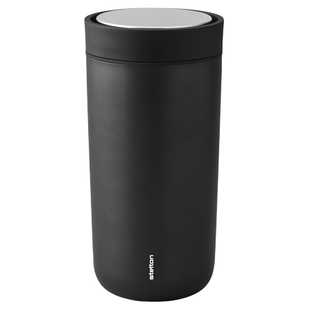 Stelton To Go Click 0,4l Thermobecher metallic-schwarz