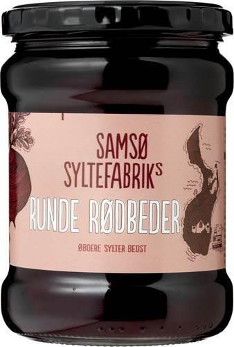 Samsø Syltefabrik runde Rødbeder - Rote Bete