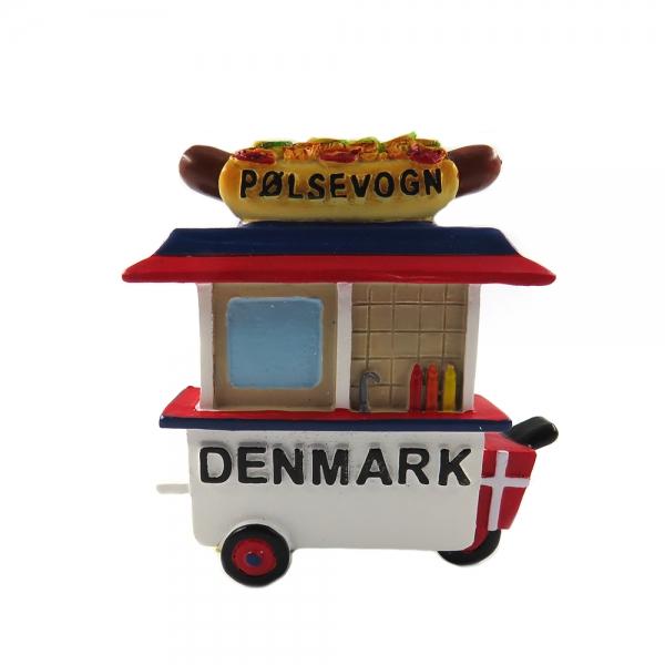 Memories of Denmark Magnet Pølser Vagn