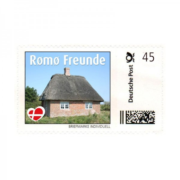 Briefmarke Rømø Freunde