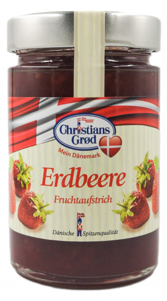 Christians Grød Marmelade Erdbeere