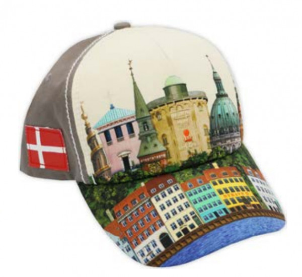 """Memories of Denmark Cappy """"Nyhavn with Towers"""""""
