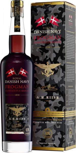 A. H. Riise Royal Danish Navy Frogman Conventus Ranae Rum