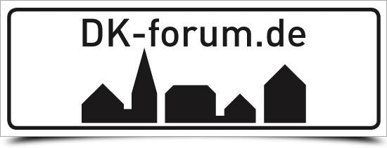 """Aufkleber """"DK Forum"""" Outdoor"""