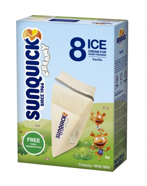 Sun Lolly - Sunquick Creamy Vanille