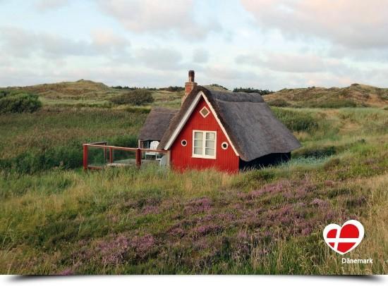 "Postkarte ""Haus in Gammelgab"""