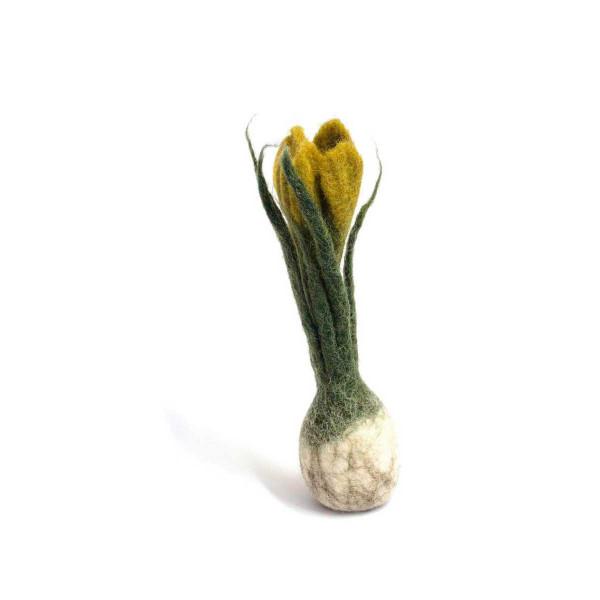 Én Gry & Sif handgemachte Blumenzwiebel gelb
