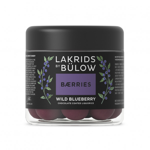 Lakrids by Bülow BÆRRIES Wild Blueberry Small