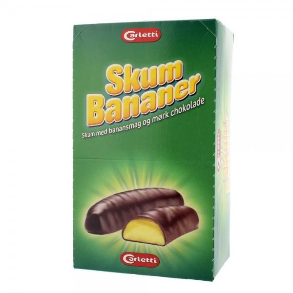Carletti Skum Bananer 600gr