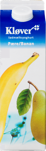 Kløver Joghurt Birne-Banane