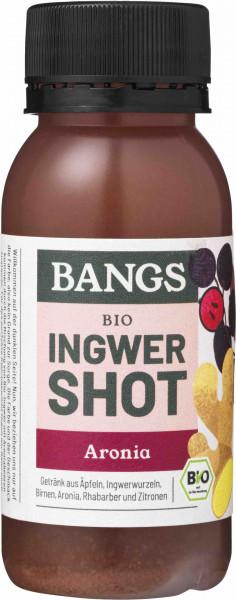 Bangs natürlicher Ingwer-Shot mit Aronia 60ml