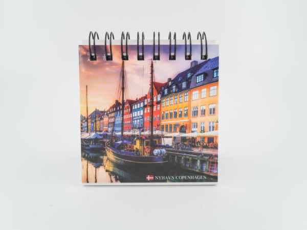 Memories of Denmark Schreibblock mit Magnet Nyhavn