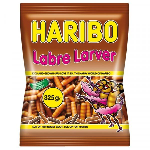 Haribo Labre Larver