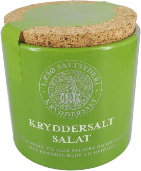 Læsø Grobes Siedesalz (Knoblauch/Salat)