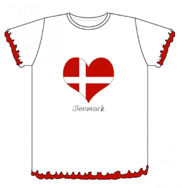"""Memories of Denmark T-Shirt Kinder """"Denmark"""""""