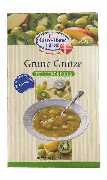 Christians Grød Grüne Grütze