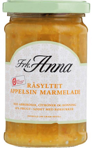 Frk. Anna Råsyltet Bio-Marmelade Orange