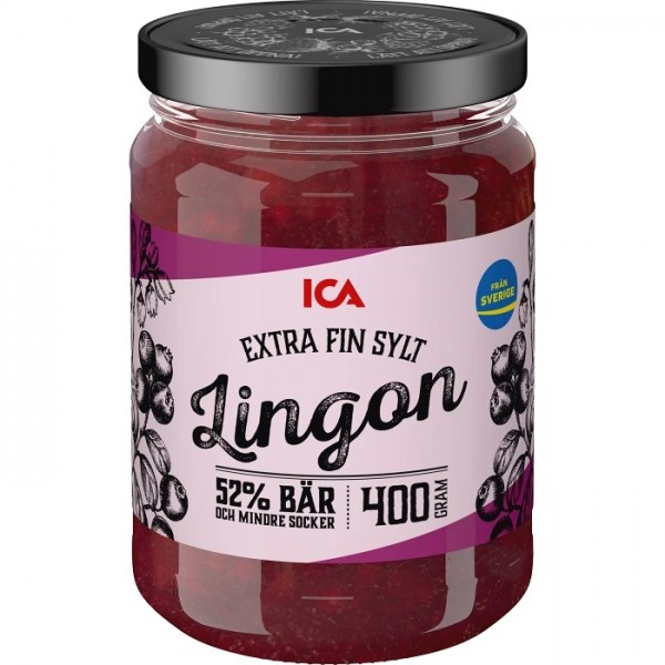 Lingonsylt Extra fin