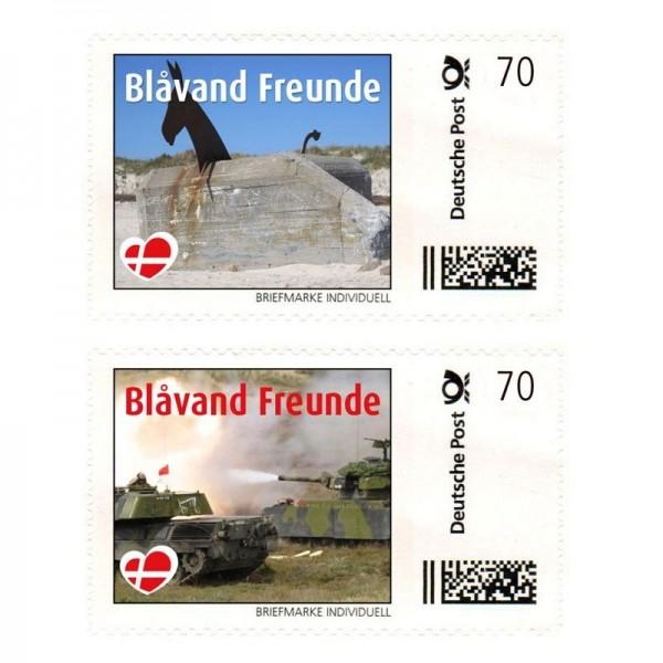 Briefmarke Blåvand Freunde