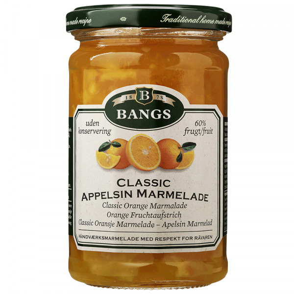 Bangs Marmelade Klassische Apfelsine