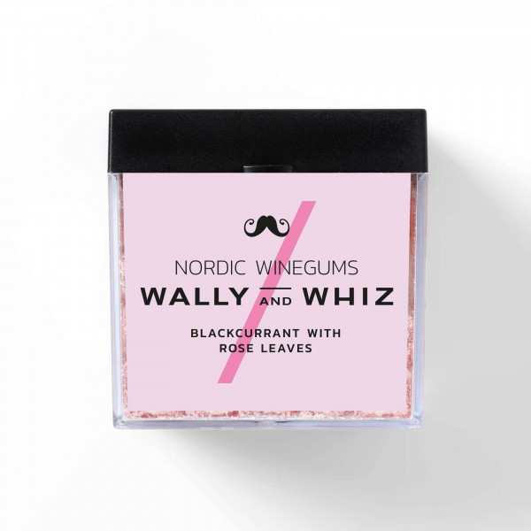 Wally and Whiz Blackcurrant with Rose Leaves