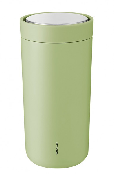 Stelton To Go Click 0,4l Thermobecher soft green