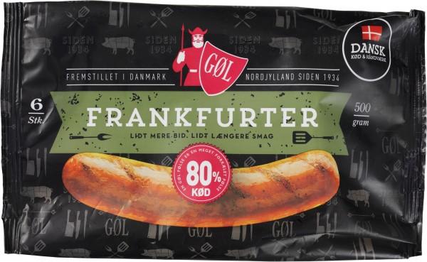 Gøl Frankfurter Würste