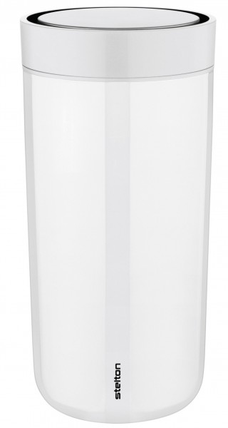 Stelton To Go Click 0,4l Thermobecher chalk weiss