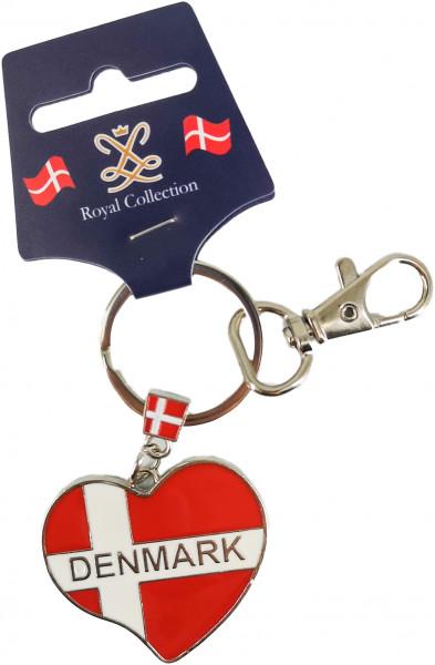 Royal Collection Schlüsselanhänger Hjerteflag