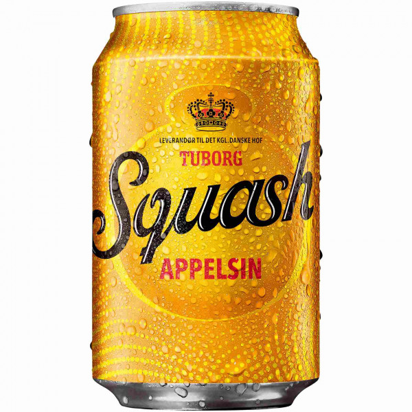 Tuborg Squash Appelsin