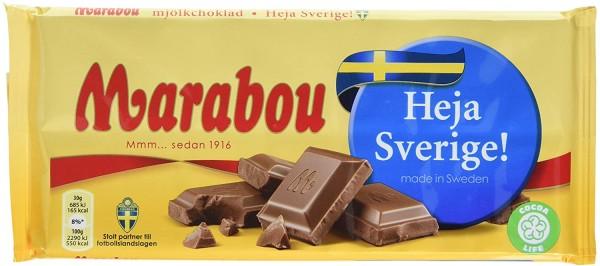 Marabou mjölk choklad Heja Sverige!