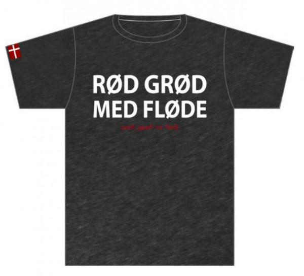 """Memories of Denmark T-Shirt """"Rød Grød med Fløde"""""""