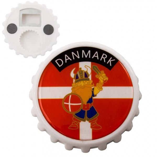 Flaschenöffner Danmark mit Magnet